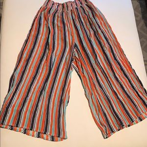 Urban outfitters multicolor culottes